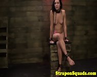Bound Lesbian Dominated By Strapon - scene 12