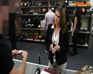 Sexy Business Woman Banged By Pawnkeeper To Earn Money - scene 2