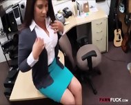 Busty Milf Pounded To Earn Exra Money For Her Husbands Bail - scene 3