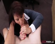 Busty Milf Pounded To Earn Exra Money For Her Husbands Bail - scene 5