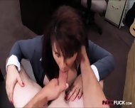 Busty Milf Pounded To Earn Exra Money For Her Husbands Bail - scene 7
