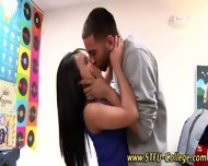 Asian College Teen Teases - scene 9