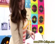 Asian College Teen Teases - scene 7