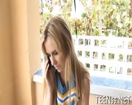 Bitchy Teen Fucks To Die For - scene 3