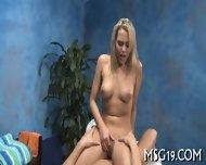 Oiled Babe Sucks And Rides Rod - scene 9