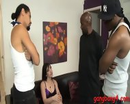 Horny Bitch Jennifer White Dp With Big Black Cocks - scene 3