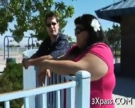 Guy Bangs Hot Fattie Hard - scene 5