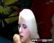 Blonde Desires Semen Facials - scene 12