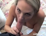 Wife Gave Me Fantastic Morning Blowjob And Gets Facialized Pov - scene 6