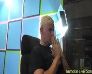 Live Show Pornstar Orgy - scene 11