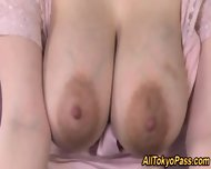 Japanese Slut Milks Tits - scene 1