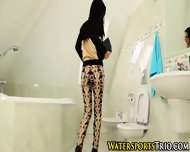 Pissing Chick Gets Fucked - scene 2