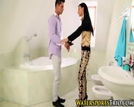 Pissing Chick Gets Fucked - scene 4