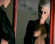Mysterious Woman Masturbates With Dildo - scene 1