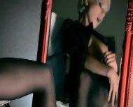 Mysterious Woman Masturbates With Dildo - scene 10