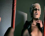 Mysterious Woman Masturbates With Dildo - scene 12