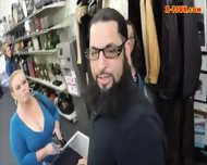 College Student Sells Her Books And Nailed At The Pawnshop - scene 2