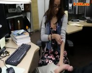 College Student Sells Her Books And Nailed At The Pawnshop - scene 7