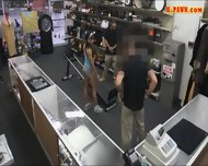 Gym Trainer Posed On Camera And Pounded At The Pawnshop - scene 1