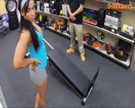 Gym Trainer Posed On Camera And Pounded At The Pawnshop - scene 2