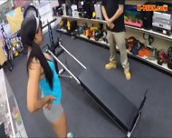 Gym Trainer Posed On Camera And Pounded At The Pawnshop - scene 3