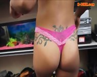 Gym Trainer Posed On Camera And Pounded At The Pawnshop - scene 6