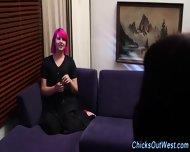 Real Aussie Lesbos Grope - scene 8