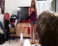 Two Young Bisexual Girls Givingblowjob Dick - scene 2