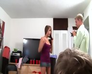 Two Young Bisexual Girls Givingblowjob Dick - scene 3