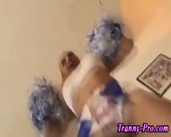 Tgirl Cheerleaders Cocks - scene 8