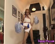 Tgirl Cheerleaders Cocks - scene 9