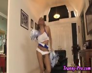 Tgirl Cheerleaders Cocks - scene 11