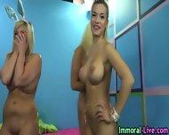 Busty Blonde Pornstars - scene 8