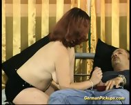 Picked Up Chubby German Redhead - scene 9