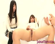 Squirting Asian Gangbang With Tiny Teen - scene 3