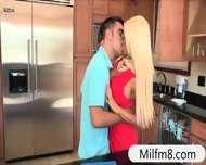 Nasty Stepdaughter Rikki Six Busted Her Bf Eating Milf Twat - scene 1