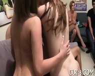 Racy And Rowdy College Orgy - scene 5
