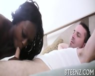 Ebony Gal Is Satisfied To Maximum - scene 2