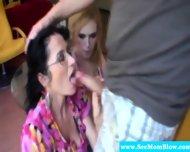Cougar Mom And Teen Bond Over Bjs - scene 9