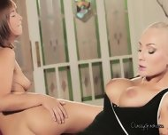 Two Horny Babes Tina And Kayla In A Hot Threesome - scene 3