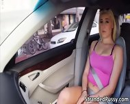 Damn Super Hot Blonde Destiny Gets Pussy Rammed In The Car - scene 4