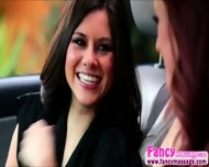 Beautiful Karlie Montana Gives Shyla Jennings A Valentine Surprise - scene 3