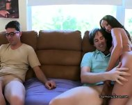 College Girls Fuck Studs At Dorm Party - scene 2
