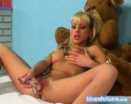 Blonde Sex Bomb Anika Anson - scene 8
