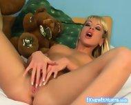 Blonde Sex Bomb Anika Anson - scene 5
