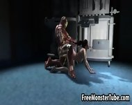 3d Babe Getting Fucked Hard Doggystyle By Iron Man - scene 8