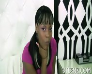 Ebony Gal S Interview Before Sex - scene 3