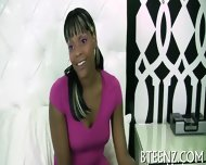 Ebony Gal S Interview Before Sex - scene 4