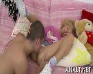 Lusty Rear Pummeling For Sweet Teen - scene 3