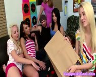 Blonde Coed Sluts Small Tits Jizz On - scene 9